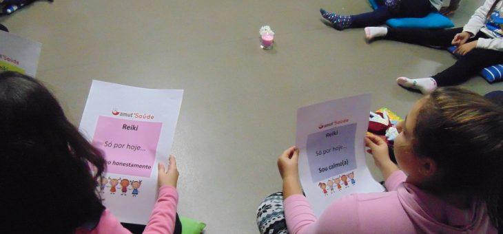 Reiki para crianças na Amut Gondomar