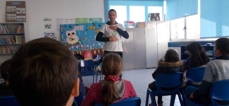 Reiki na escola de Paço de Sousa