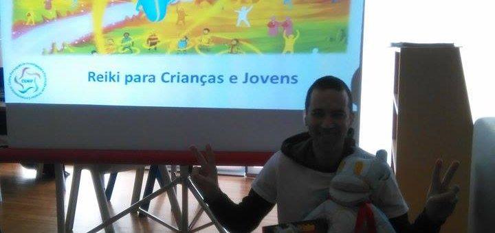Super Reikinho continua a encantar as crianças nas escolas!!