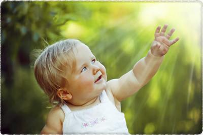 Será que uma criança nasce Reikiana?