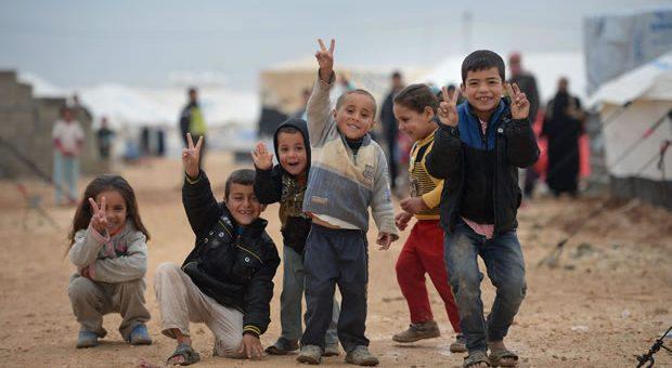 Reiki para as crianças refugiadas
