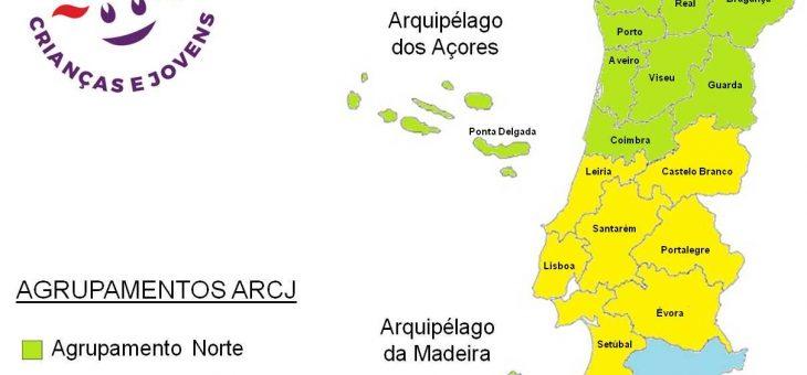 Agrupamentos ARCJ