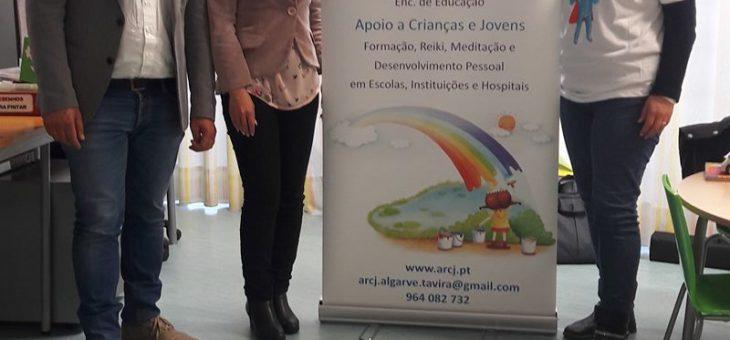 Sessão de esclarecimento no Agrupamento de escolas das Ferreiras em Albufeira