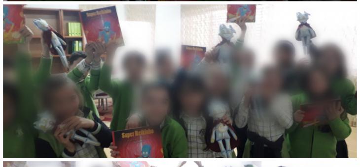 Neste dia Internacional do livro infantil dezenas de crianças recebem o Super Reikinho